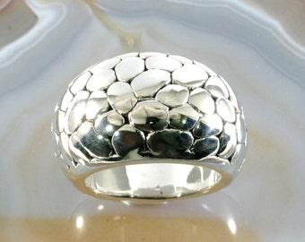 Ring, 925 sterling silver, electroforming - 3018