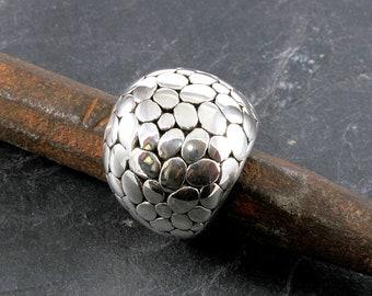 Ring, 925 sterling silver, electroforming - 5047