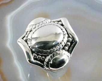 Ring, 925 sterling silver, electroforming - 3042