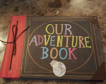 picture regarding Our Adventure Book Printable named Reserve adventures Etsy