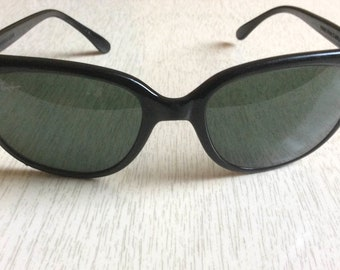 Vintage 80s Black Ray-Ban CATS 1000 Ski Sunglasses Bausch   Lomb G-15 France  B and L 8ca823611294