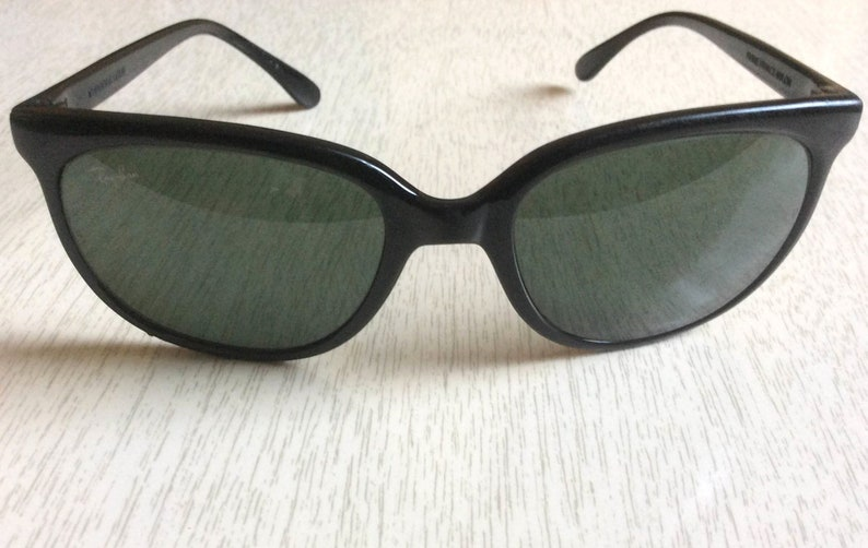 07408db22c3 Vintage 80s Black Ray-Ban CATS 1000 Ski Sunglasses Bausch