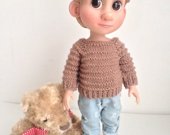 Sweater for the Boys - Disney Animator Dolls Clothes