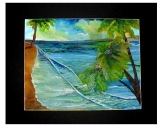 Beach wall art ,fine art prints, From My watercolor painting, ocean original art poster, coastal decor, nautical gifts, bathroom art # 58