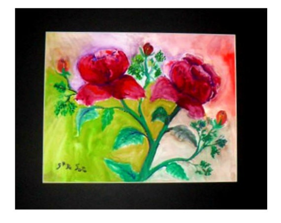 Mother's day gifts, rose art, floral wall art, watercolor prints, country rose, art posters, red roses, floral paintings, gifts for women