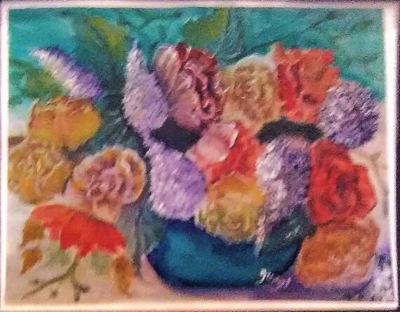 Lilac Floral Painting, Watercolor Modern Art, Wall Art, Lilac Floral Painting, Gift, Art Poster, Watercolor Art, Folk Art print, Home Decor