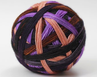 "Dyed to Order: ""Defense Against the Dark Arts  (6 color self-striping)"""