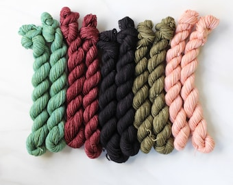 mini skeins sock yarn