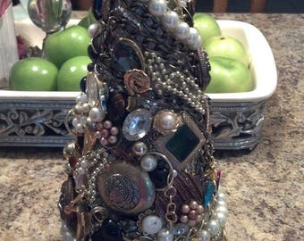 Vintage Heirloom Jewelry Christmas Wedding Tree Exquisite Gift Idea