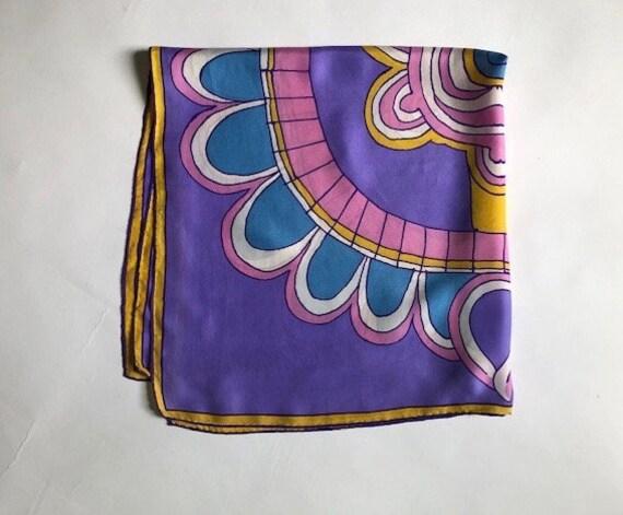 Big Bold Vera Abstract  Silk Scarf - image 4