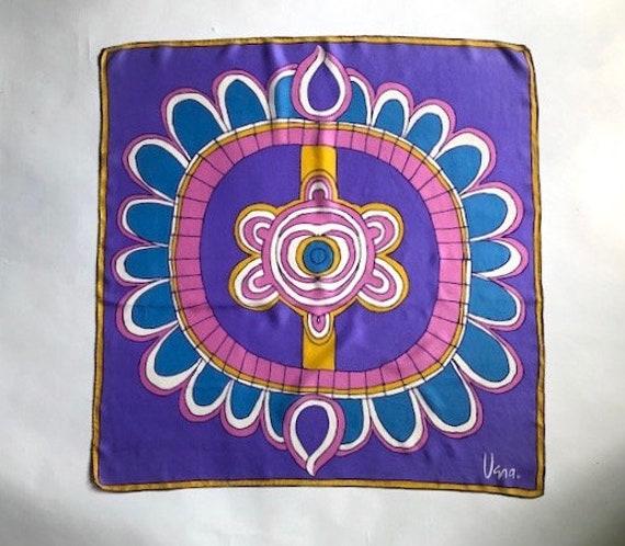 Big Bold Vera Abstract  Silk Scarf - image 1