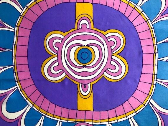 Big Bold Vera Abstract  Silk Scarf - image 9