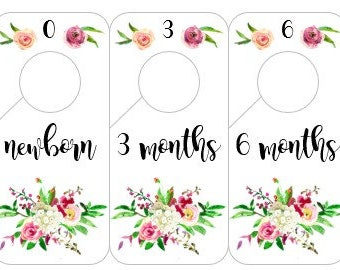 Closet Dividers - Country Garden
