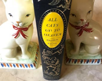 All Cats Go To Heaven Vintage Book