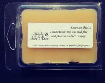 Pink Magnolia Blossom Beeswax Melts
