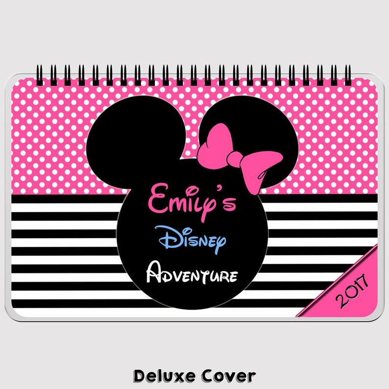 Disney Autograph Book Large   PINK   Minnie Mouse  FLIP image 0
