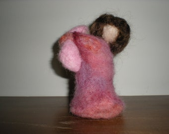 Neede felted Mother and Child