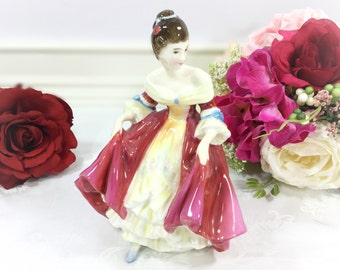 """Royal Doulton Figurine """"Southern Belle"""" HN 2229, COPR 1957, Bone China England For Anniversary Wedding Shower Gift #020"""