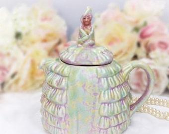 Ye Daintee Ladyee Teapot, Crinoline Lady Teapot, Collectable Sadler Teapot, Dainty Lady Sadler English Teapot Tea Set, Party, Wedding #A110