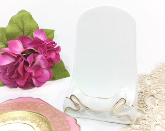 Fabulous Desktop Book Stand, Easel, Plate Display Stand, Picture Frame Stand, Shabby Chic Cottage Style Home Decor #B138
