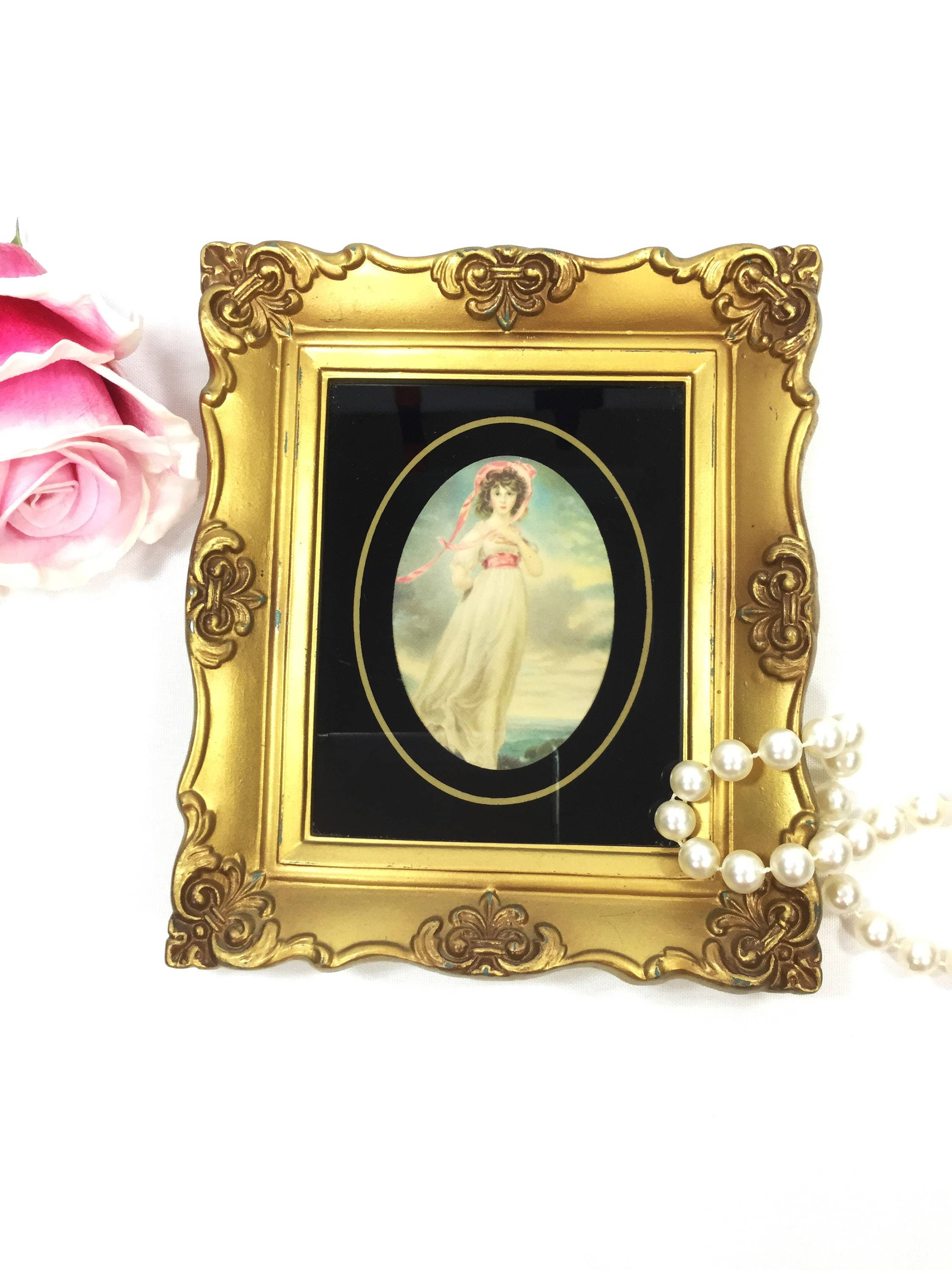 Pinkie Lawerence Wall Accessory Pinkie Wall Art Framed   Etsy
