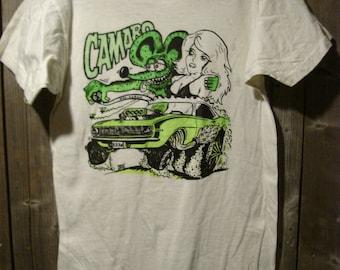 Vintage Big Daddy Roth B.D.Rat Camaro Screen Stars T-Shirt