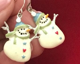 63cc8f1caf109 Snowman jewelry   Etsy
