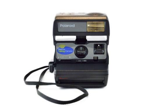 Polaroid OneStep hablando cámara: Probado Vintage Polaroid 600 Film ...