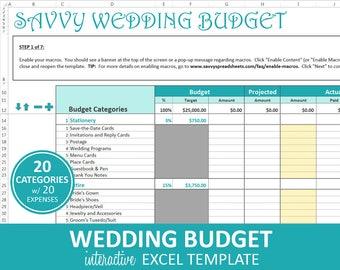 budget planner excel