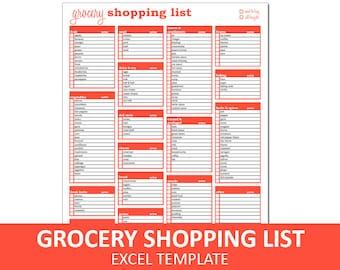 shopping list etsy