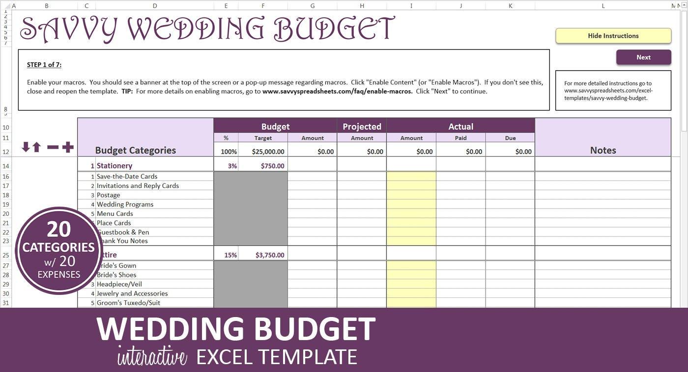 Versierte Hochzeit Budget lila Hochzeit Budgetplaner