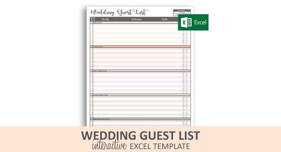 Wedding Guest List Spreadsheet Template from i.etsystatic.com