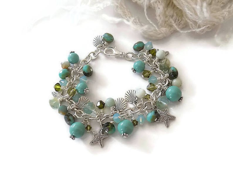 Gorgeous Beach Charm Bracelet