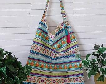 Boho Bag Colorful Pattern