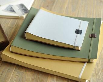 Jumbo Recycled Leather Photo Album