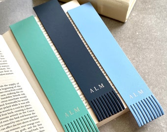 Bespoke Recycled Leather Bookmark