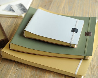 Large Recycled Leather Photo Album