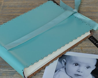 Small Recycled Leather Photo Album