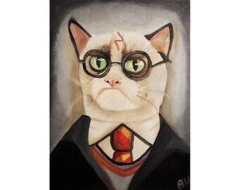 Grumpy Potter Print 11x14in