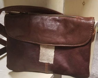 Map Maker's Bag - Steampunk Travel Purse - Brown Archeologist Pouch - Victorian Shoulder Bag