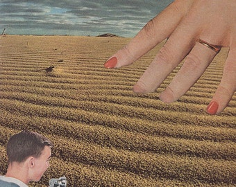 "Collage Print  ""The Reach"""