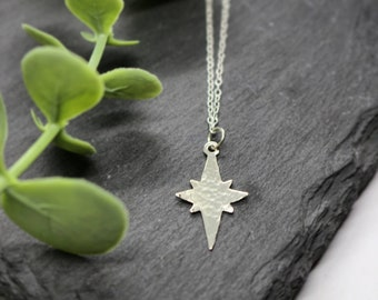 POLARIS STAR NECKLACE   Star Jewellery - Silver Star Necklace - Constellation Jewellery - Astronomy Gift - Celestial - Birthday Gift
