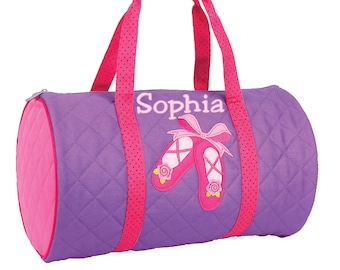 Personalized Ballet Dance Bag with Name  bef24966ab0e1