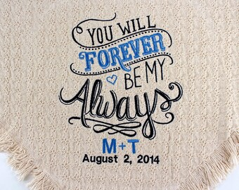Personalized 50th Golden Wedding Anniversary Embroidered  ebf5c62877a1