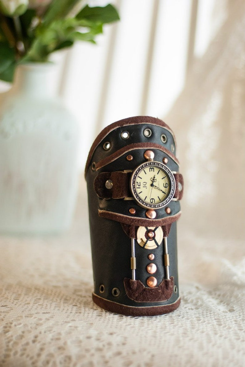 Steampunk Armbanduhr Steampunk Armband Etsy