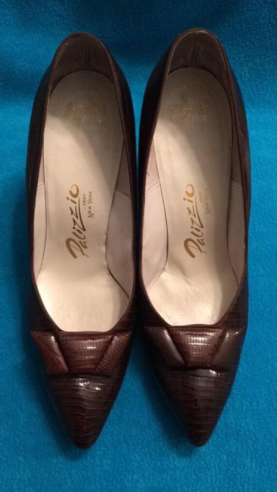 1960s Palizzio Lizard Shoes size 9.5