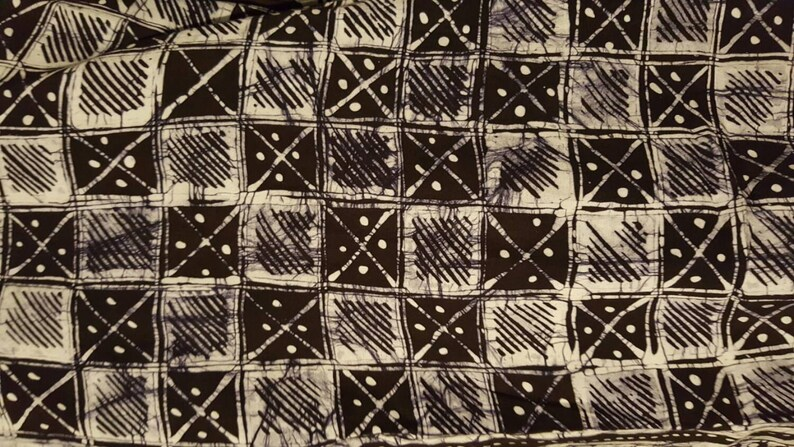 Med6 Button down batik shirt