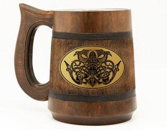 Viking Gift For Men Vikings Mug Viking Gift For Husband Man Cave Gift Anniversary Presents For Him Odin Art Unique Mug Viking Ornament