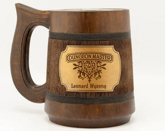 Dungeon master personalized D&D custom gift Dungeon and Dragons Mug Dungeon master mug Dungeon master gift Gamer mug