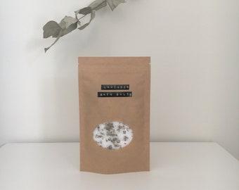 Lavender Bath Salts // 200g